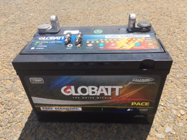 EB65 ディープサイクルバッテリー 蓄電池 充電し繰返し使えるバッテリー OK 新品