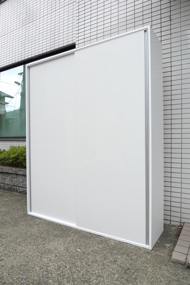 【ポイント10倍!】薄型引き戸壁面収納 幅150【販売中】