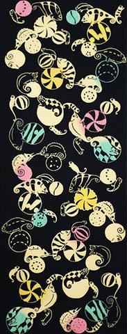 日本製 綿100%の手拭い 生地が柔らかくごわごわしません 日本手ぬぐいだから柔らかい 休日 江戸てん 綿100% 手ぬぐい 梨園染 カメレオン 優先配送 注染