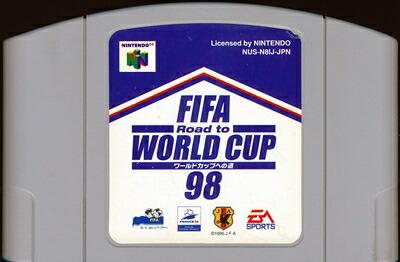 N64 FIFA ロード トゥ 新作通販 ワールドカップ98 中古 ソフト 64 即納最大半額 ソフトのみ