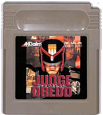 GB ジャッジ ドレッド やや色ヤケあり 期間限定 ゲームボーイ 中古 ソフトのみ 即納最大半額