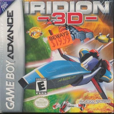 GBA イリディオン 価格交渉OK送料無料 Iridion 3D 新品 無料サンプルOK ゲームボーイアドバンス 海外版 未開封品