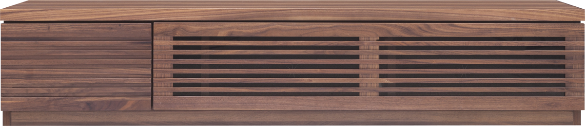 ルーク150cm幅 ローボード シンプル TVボード テレビ台 ローボード 送料無料 天然木ウォールナット材(おしゃれ ナチュラル 収納 tvボード TV台 完成品 棚 収納家具)