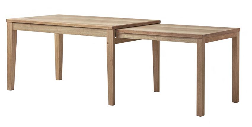 アキ エスクテンションダイニングテーブル 伸長式食卓机 食堂配膳台 シンプル クルミ 送料無料 日本製