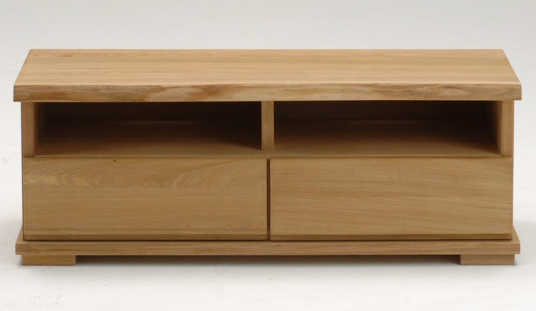 古彩ナチュラル 木目を生かしたTVボード 120テレビ台 ニレ材 天然木無垢 ロータイプ 自然素材 カントリーシンプル 送料無料 完成品 オイル仕上げ 木製