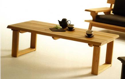 古彩ナチュラル 木目を生かしたセンターテーブル ニレ材 天然木無垢 ロータイプ 自然素材 カントリーシンプル ソファー机 送料無料 完成品 オイル仕上げ 木製