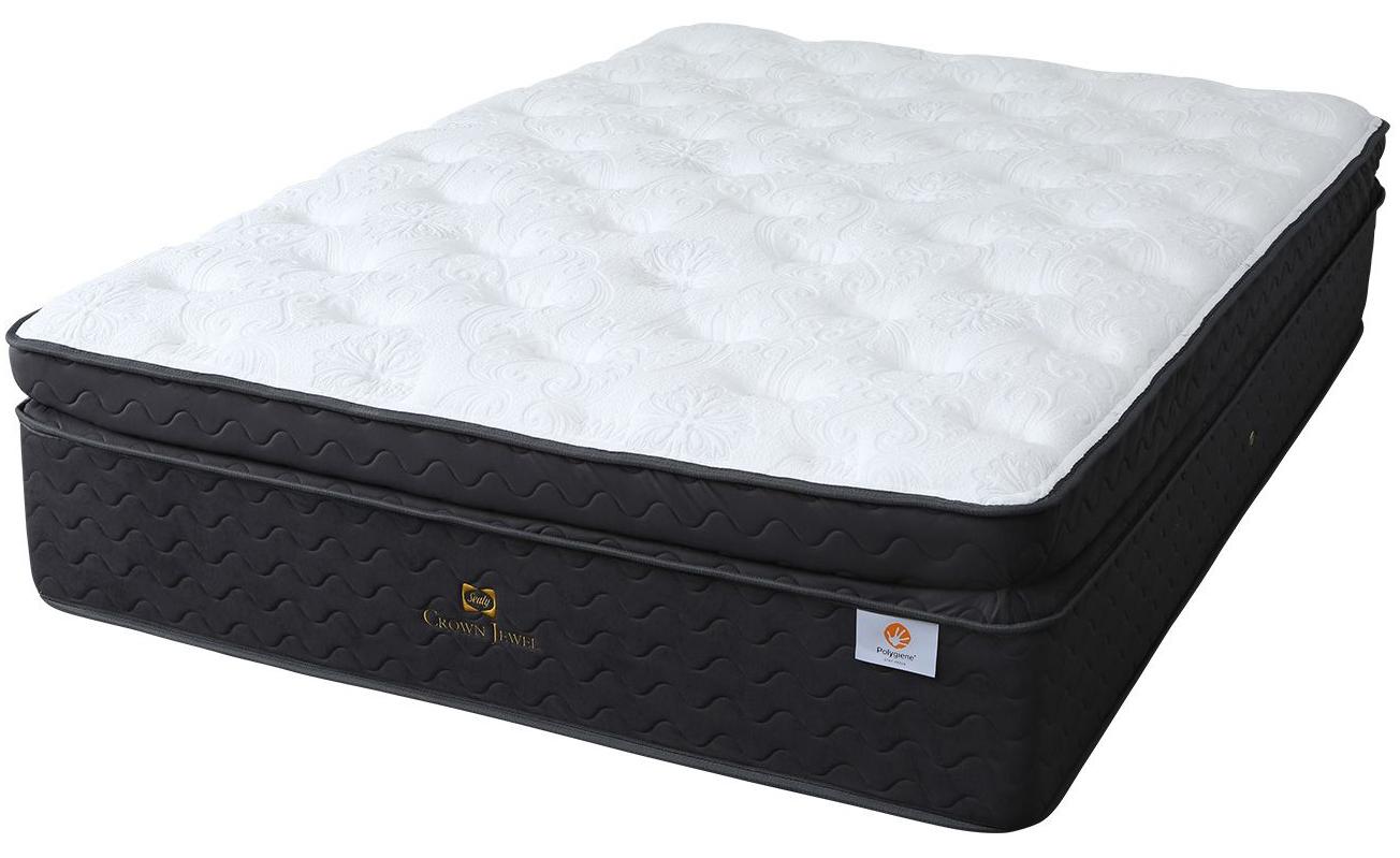 シーリーベッド sealy bed 高級マットレス クラウンジュエル ガーナイト3 マットレス セミダブル 送料無料 送料込み セレブ 厚い ふわふわ 柔らかい 最上ランクTurquoise crown jewelシーリーベッド正規品 ポリジン加工 日本製