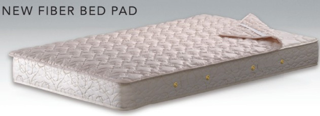 シモンズベッド ニューファイバーベッドパッド ダブル LG1002 布団カバーセット マットレスカバー 寝装品 送料無料 simmons
