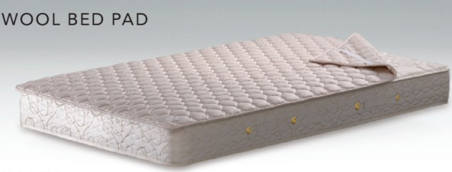 シモンズベッド ウール羊毛ベッドパッド シングル LG1001 布団カバーセット マットレスカバー 寝装品 送料無料 simmons