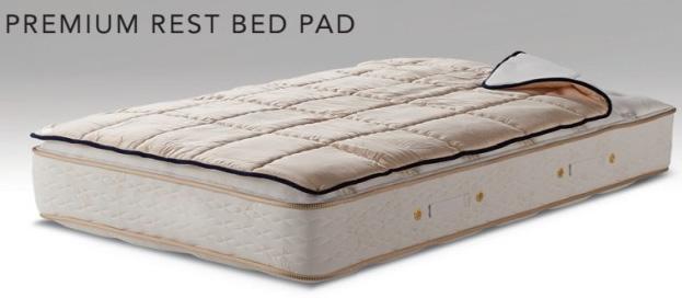 シモンズベッド プレミアムレストベッドパッド ダブル LG1501ポリエステル綿 布団カバーセット マットレスカバー 寝装品 送料無料 simmons