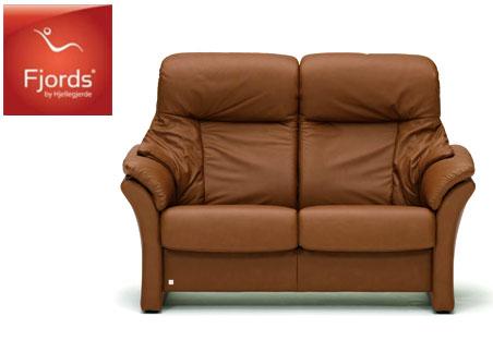 フィヨルド アルファ2Pソファラブソファ本革チェア ハイバック椅子チェア 二人掛け シモンズベッド 送料無料 家具