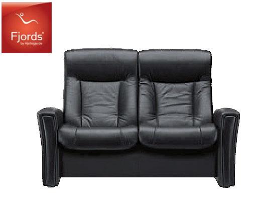 フィヨルド アヴェンシス2Pソファラブソファ本革チェア ハイバック椅子チェア 二人掛け シモンズベッド 送料無料 家具
