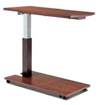 シモンズベッド ガス昇降式テーブル リフトサイドテーブル 介護ベッド 電動ベッド ソファ・ソファーベッドにも 配膳テーブル