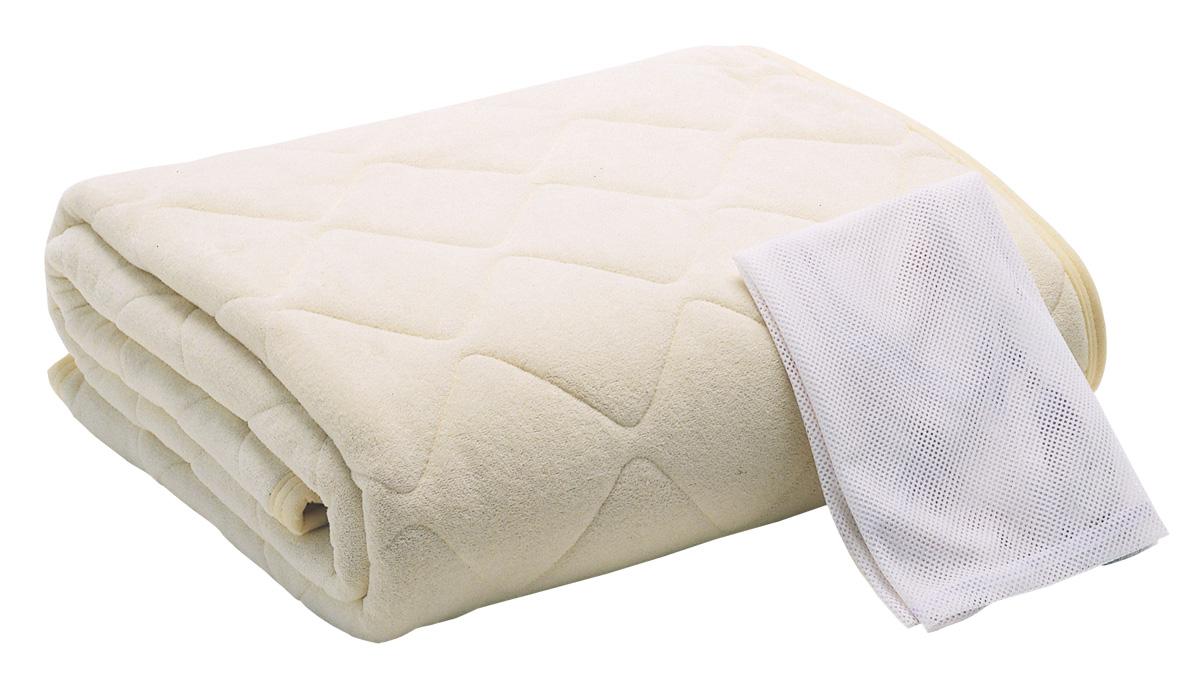 ドリームベッド PD-936 ウール&パイルパッド セミダブル 羊毛 ウォッシャブルベッドパット寝装品 送料無料 日本製(広島製dreambed)