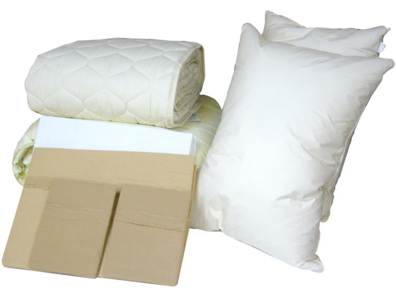 ドリームベッド プレミアムゴールド ベストベッドメーキングセット クイーン 寝装品6点セット 羽毛掛ふとん 羽毛布団 布団カバー+枕セット 日本製寝具 送料無料 FT847オールシーズンタイプ