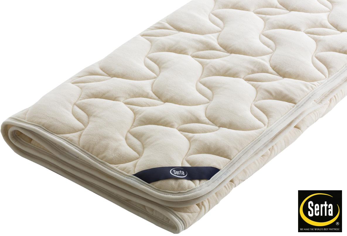 サータ PD150LX ラグジュアリーウールパッド シングル 羊毛ベッドパッド 洗える リバーシブル 送料無料 日本製