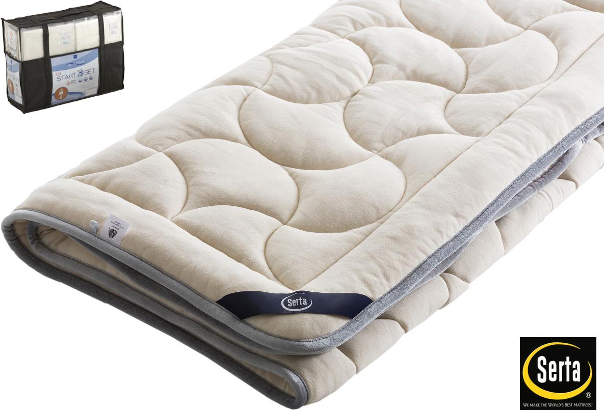 サータ PD151LX ラグジュアリーEウールパッド クイーン1・ワイドダブル 羊毛ベッドパッド 洗える シーツベッドメーキングセット三点パック 寝装品 送料無料 日本製