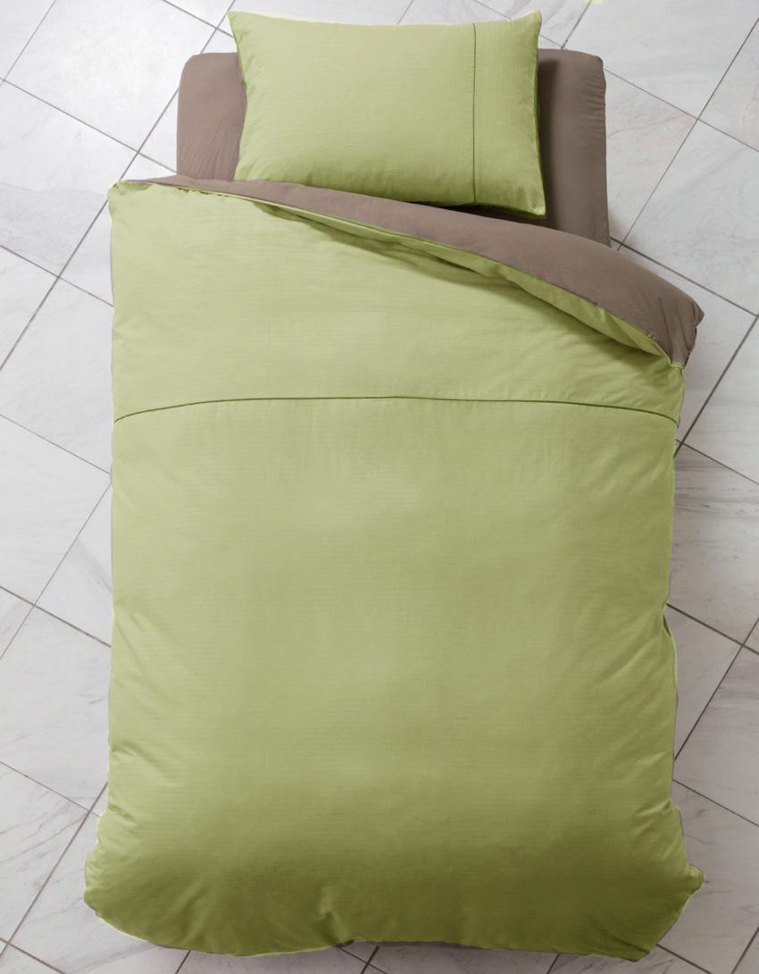 ベーシックなデザインと落ち着いたカラー ドリームベッド テイスティライフTL-A3 セミダブル ベッドシーツセット掛け布団カバー マットシーツ グリーン コンフォーターケース・ピローケース・ボックスシーツセット 日本製寝装品 送料無料
