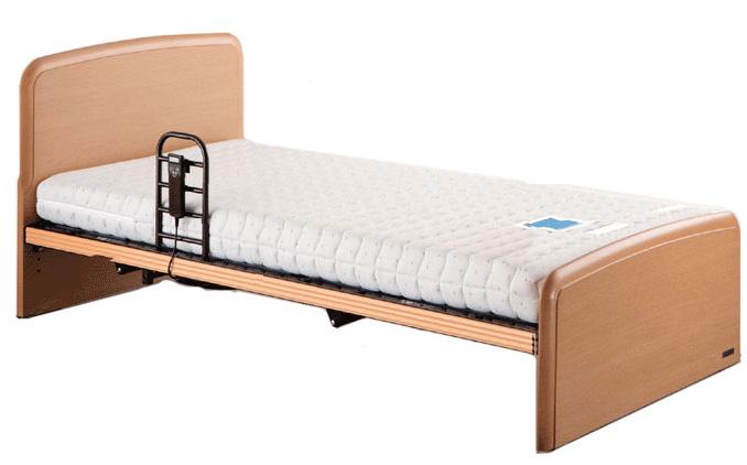 リラックスタイム113 1モーター シングル 電動ベッド リクライニングベッド 背脚連動 高さ調節可能 介護 フラット ドリームベッド 送料無料 在宅ケア 自立支援