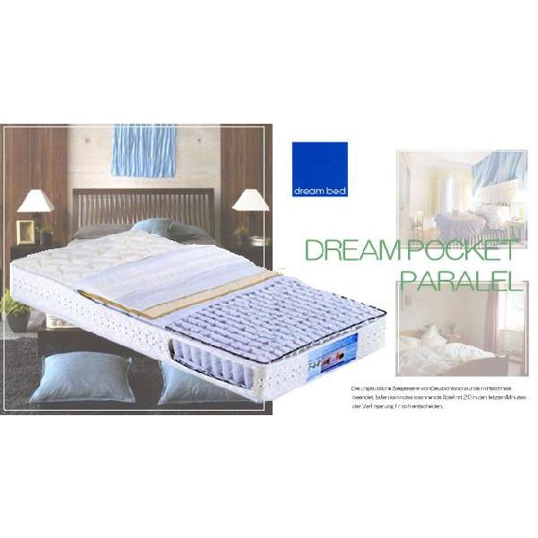 ドリームベッド ドリーム228 F1-P DX ポケットパラレルマットレス ソフトタイプ セミシングル dreambed正規販売店 日本製(広島製)送料無料