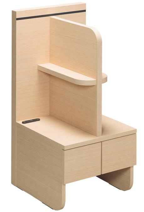 ドリームベッド 086 ナイトテーブル ベッドサイド机 ナチュラル バリュージェンス周辺家具 送料無料 日本製家具