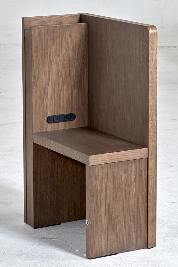 ドリームベッド シジマ0220 コンセント付 ブラウン 日本製 送料無料
