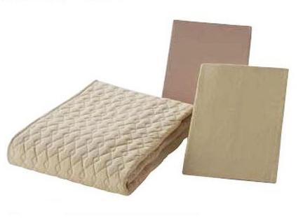 フランスベッド Nウォッシャブルコットン3点ベッドパック セミダブル ベッドパッド&シーツ2枚セット 布団カバーセット マットレスカバー 寝装品 送料無料