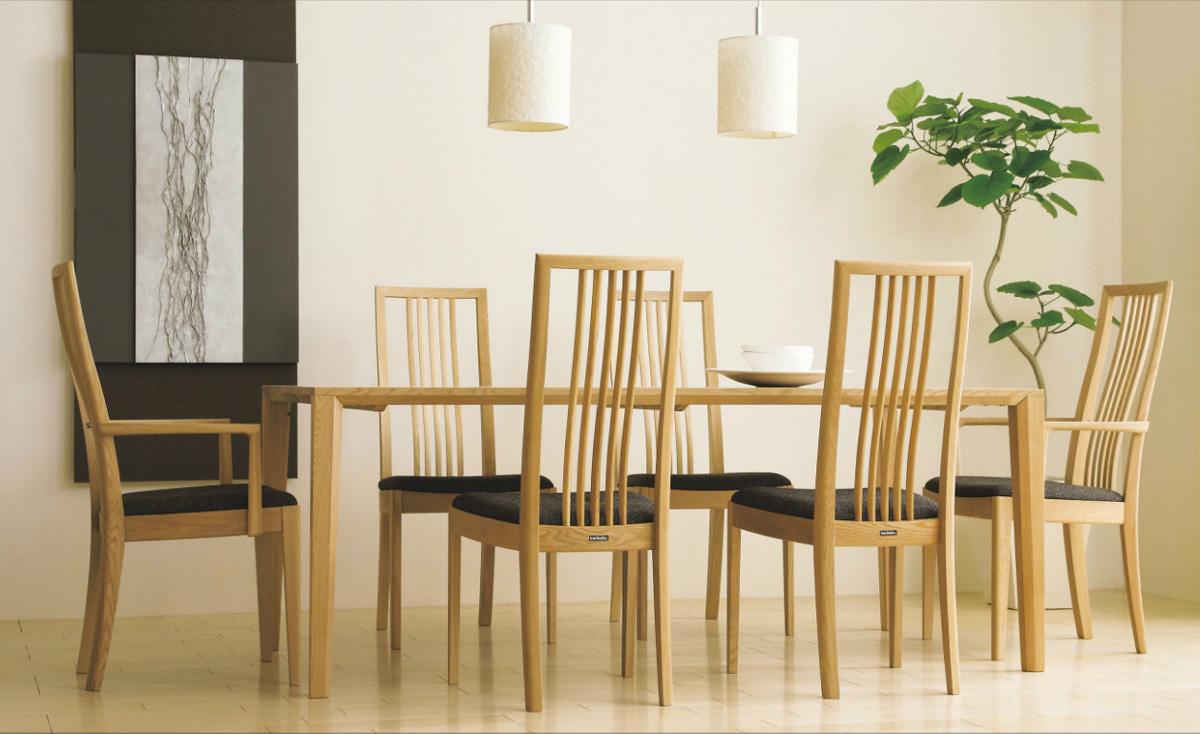 カリモクCT4810 180サイズダイニング7点セット 食堂テーブル 食卓モダンセット 和モダン調 合成皮革・布張り 送料無料 日本製家具 正規取扱店