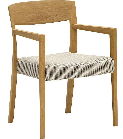 カリモク CT5310 5300 食堂椅子 食卓椅子 ダイニングチェア 合成皮革・布張り 選べるカラー 肘付椅子 送料無料 karimoku 日本製家具 正規取扱店 木製 ブナ 単品 バラ売り