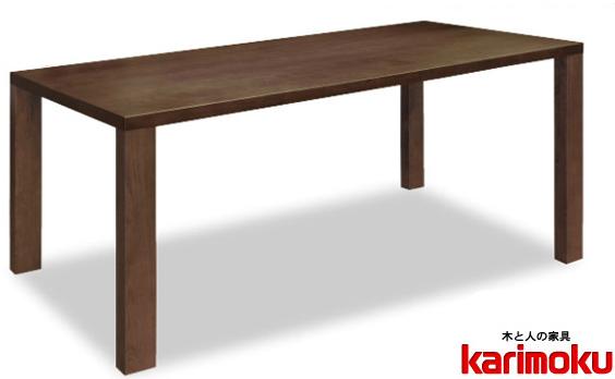 カリモク DT6380 180cmダイニングテーブル 食卓テーブル 配膳台 食事机 オーク材 楢材 ナラ 送料無料 karimoku 日本製家具 正規取扱店 テーブルのみ