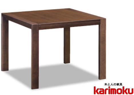 カリモク DU4103 135cm天板伸長式ダイニングテーブル 食卓テーブル 配膳台 食事机 オーク材 楢材 ナラ 送料無料 karimoku 日本製家具 正規取扱店 テーブルのみ