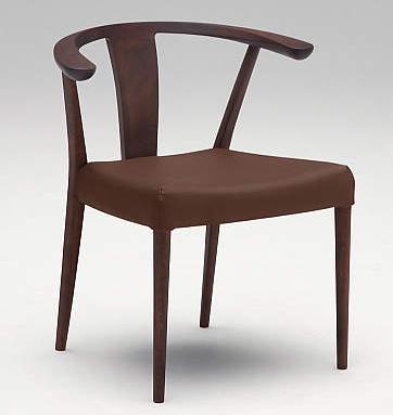 カリモク CU4600 食堂椅子 食卓椅子 ダイニングチェア 合成皮革・布張り 肘付椅子 送料無料 karimoku 日本製家具 正規取扱店 木製 単品 バラ売り