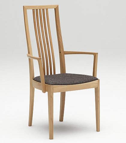 カリモク CT4800 食堂椅子 食卓椅子 ダイニングチェア 合成皮革・布張り 肘付椅子 送料無料 karimoku 日本製家具 正規取扱店 木製 単品 バラ売り