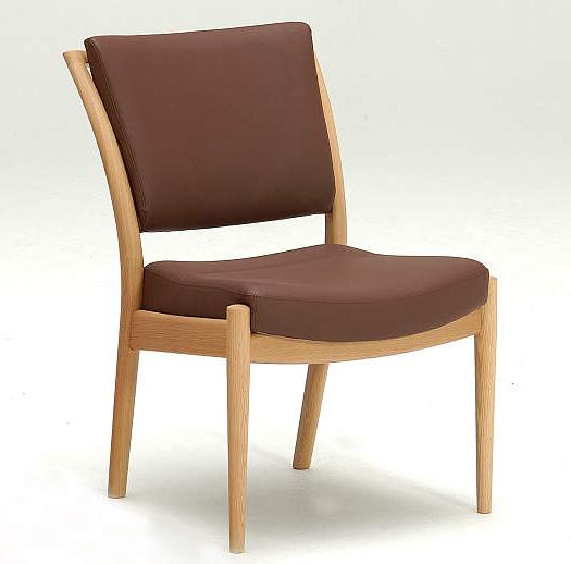 カリモクCD3505 ダイニングチェア 食卓椅子 本革張りイス ミドルバック 送料無料 日本製家具 正規取扱店 木製 単品 バラ売り
