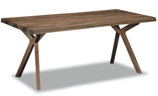 カリモク DW5500 165cmダイニングテーブル 食卓テーブル 配膳台 食事机 オーク材 送料無料 karimoku 日本製家具 正規取扱店 テーブルのみ