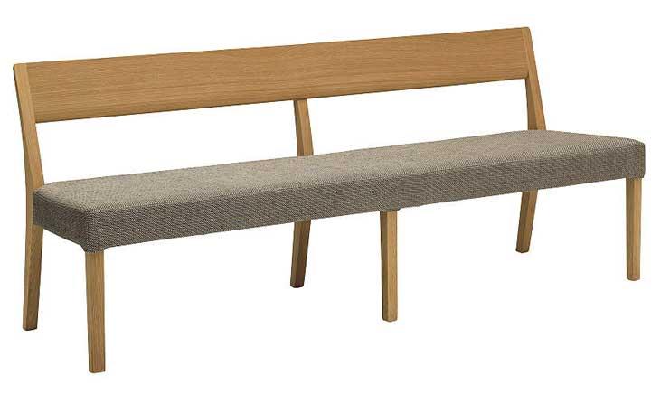 カリモク CU4704 CU4714 180ベンチ 三人掛け食堂椅子 食卓椅子 ダイニングチェア カバーリング 背もたれ 合成皮革・布張り 選べるカラー 送料無料 karimoku 日本製家具 正規取扱店 木製 ブナ 単品 バラ売り