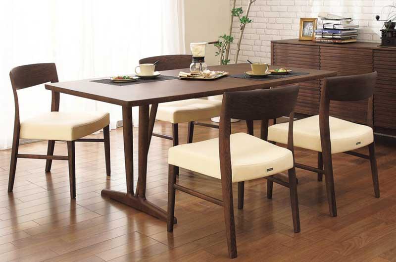 カリモク CT5315 CT5305 DU5831ダイニング5点セット 食堂椅子 食卓椅子 ダイニングチェア 合成皮革・布張り 選べるカラー 木製 オーク材 送料無料 karimoku 日本製家具 正規取扱店