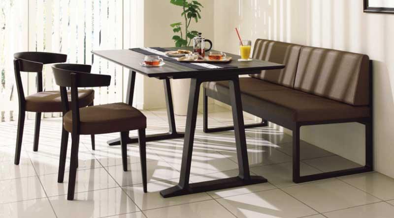 カリモク CA3700 CA3903 DA4980 食堂椅子 食卓椅子 ベンチ 135サイズ ダイニング4点セット 合成皮革張り 食卓セット ダイニングテーブル ナチュラルモダン 送料無料 karimoku 日本製