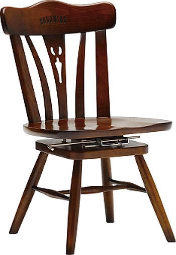 カリモク CC1837NK コロニアルシリーズ ダイニングチェア 座面回転式肘付き食堂椅子 食卓和風モダンセット カントリー調 コンパクト 送料無料 karimoku 日本製