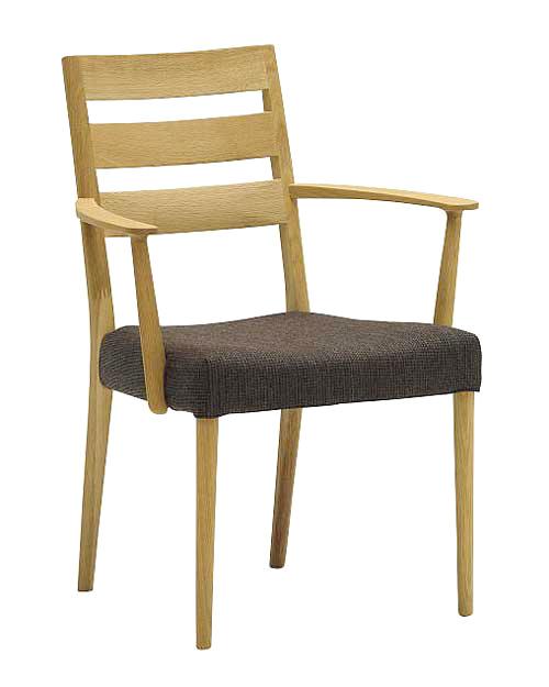 【eis仕様】カリモク CT6110 CT6100 食堂椅子 食卓椅子 ダイニングチェア 肘付き椅子 肘掛椅子 合成皮革・布張り 選べるカラー 肘付椅子 送料無料 karimoku 日本製家具 正規取扱店 木製 ブナ 単品 バラ売り