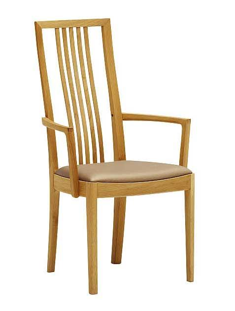 カリモク CT4800 CT4810 食堂椅子 食卓椅子 ダイニングチェア 合成皮革・布張り 選べるカラー 肘付椅子 送料無料 karimoku 日本製家具 正規取扱店 木製 単品 バラ売り