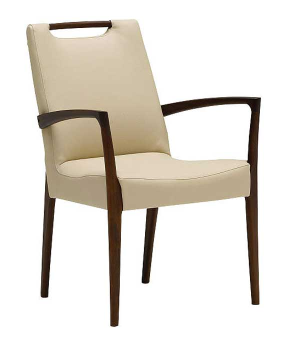 【eis仕様】カリモク CE3200 肘付食堂椅子 食卓椅子 ダイニングチェア 合成皮革・布張り 選べるカラー 送料無料 karimoku 日本製家具 正規取扱店 木製 単品 バラ売り