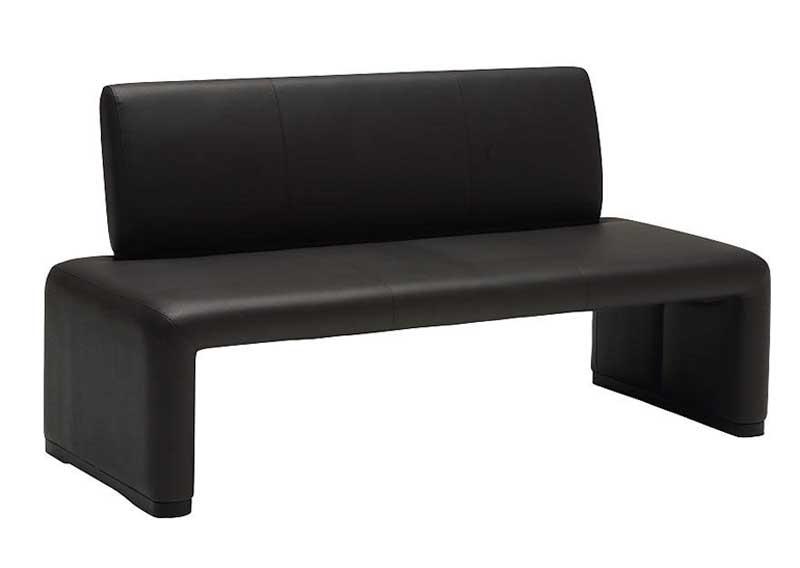 カリモク CS812A 150ベンチ 背付き二人掛け食堂椅子 食卓椅子 ダイニングチェア 合成皮革 選べるカラー シンプル モダン 送料無料 karimoku 日本製家具 正規取扱店 木製 単品 バラ売り
