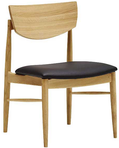 カリモク CW7515 ダイニングチェア 食堂椅子 肘無椅子 食卓モダンセット ナチュラル調 本革張り 選べるカラー 送料無料 karimoku 日本製家具 正規取扱店 木製 単品 バラ売り