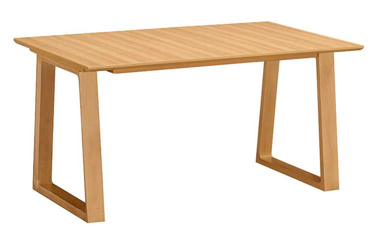 カリモク DA4580 135cmダイニングテーブル 食卓テーブル 配膳台 食事机 ラバートリー材 メラミン天板 送料無料 karimoku 日本製家具 正規取扱店 テーブルのみ
