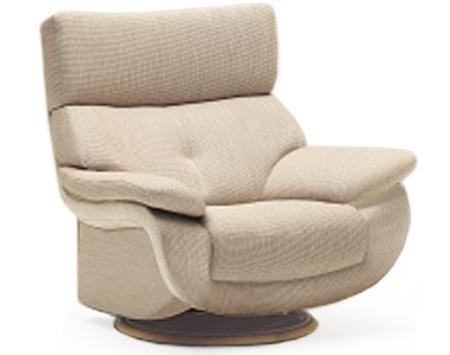 カリモク UT73モデル UT7307 一人掛け 肘掛椅子(回転式) 1Pソファ 布張り 一人掛け パーソナルソファー ハイバック ファブリック おすすめ おしゃれ 人気 karimoku 日本製家具 正規取扱店