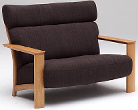 カリモク WT4112 2Pソファ 布張ファブリックソファ 肘掛ソファ ラブチェア 二人掛け椅子 フィットするコンパクトモデル おすすめ おしゃれ 人気 karimoku 日本製家具 正規取扱店