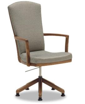 カリモクCT7814 食堂椅子 食卓椅子 ダイニングチェア 合成皮革・布張り 肘付椅子 ハイバック 送料無料 日本製家具 正規取扱店 木製 単品 バラ売り