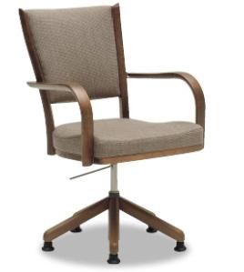 カリモク CT7364 食堂椅子 食卓椅子 ダイニングチェア 合成皮革・布張り 選べるカラー 肘付椅子 ハイバック 送料無料 karimoku 日本製家具 正規取扱店 木製 単品 バラ売り