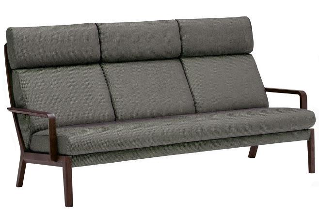 深く包まれる 優しい座り心地 カリモク WU4603 3Pソファ 人気ショップが最安値挑戦 肘掛椅子 布張り 三人掛け トリプルソファー 美品 おしゃれ ファブリック 正規取扱店 ハイバック おすすめ karimoku 人気 ブナ材べるカラー 日本製家具